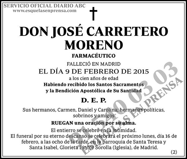 José Carretero Moreno